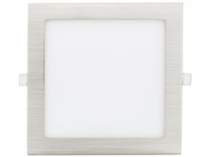 Chromový eingebauter LED panel 225 x 225mm 18W Warmweiß